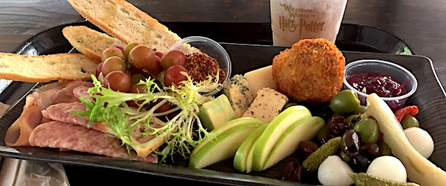 Let's check out the new meals on the menu at The Three Broomsticks