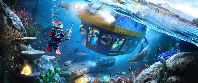 California's Lego City Deep Sea Adventure will launch July 2