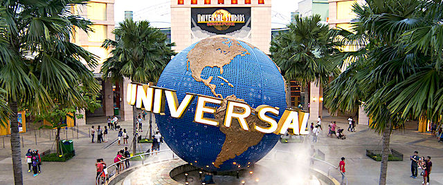 The eyes of the world turn to the home of Universal Studios Singapore