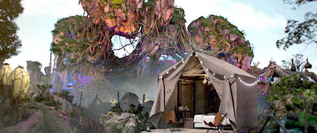 Disney offers a glamping experience that's out of this world
