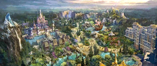 Disney announces major expansion of Tokyo DisneySea