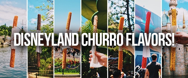 Which of Disneyland's flavored churros is the best?
