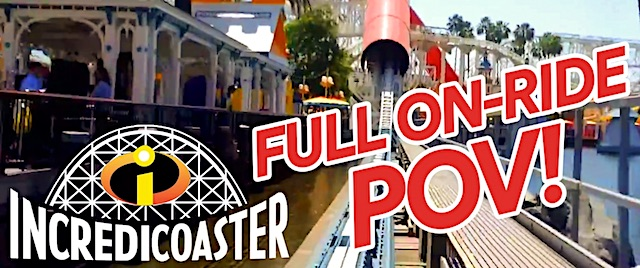 Take a ride on the Incredicoaster at Disney's new Pixar Pier