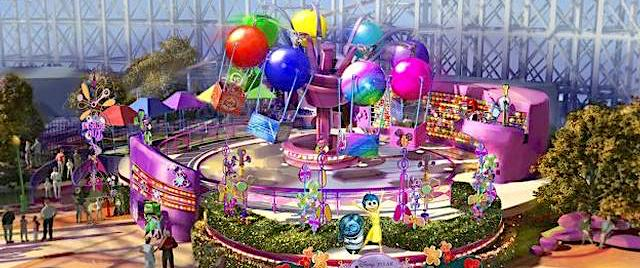 Disney announces new Inside Out ride for Pixar Pier