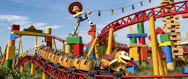 Disney's Toy Story Land offers playful new rides for kids