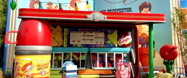 Let's taste the food of Disney World's new Toy Story Land