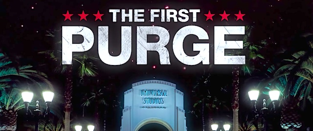 'The First Purge' is coming to Hollywood's Halloween Horror Nights