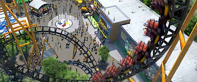 Kennywood turns to pro sports for its new coaster's theme
