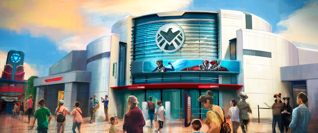 Disney reveals name for new Hong Kong Ant-Man and The Wasp ride
