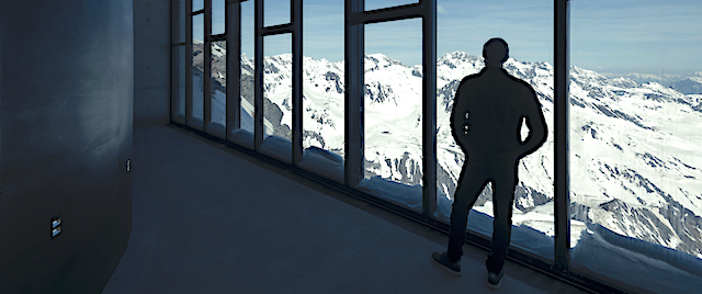 Step into the world of James Bond, in the Austrian Alps