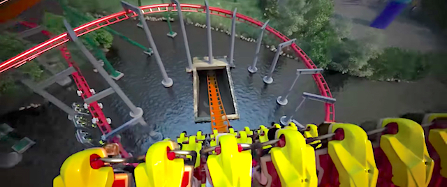 Canada's Wonderland drops record-setting dive coaster for 2019