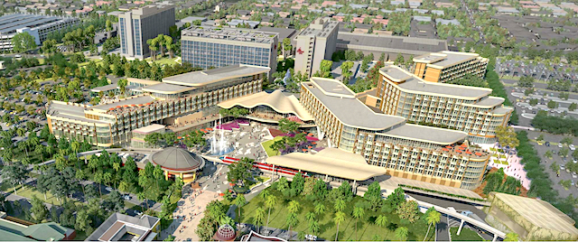 Proposed fourth Disneyland Resort hotel