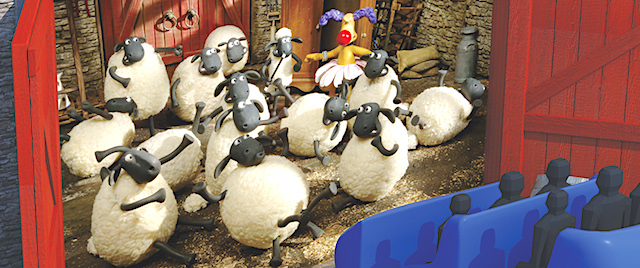 Aardman and Sally partner on new 'Shaun the Sheep' dark ride