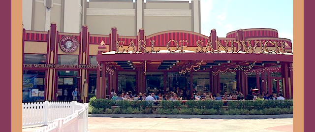 Earl of Sandwich is coming back to Disneyland