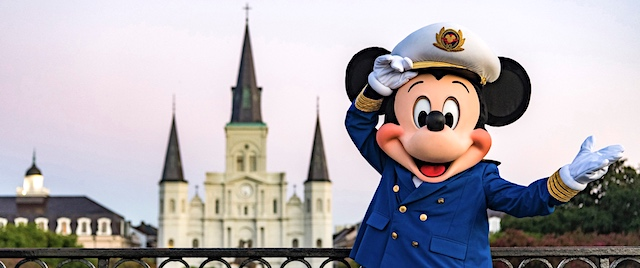Disney Cruise Line announces sailings from New Orleans
