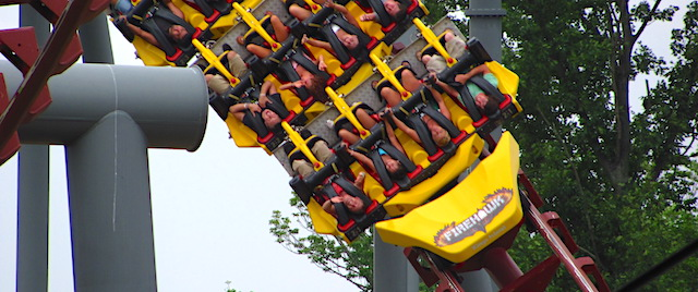 Get ready to say goodbye to Firehawk at Kings Island