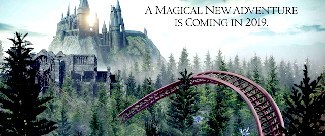 Universal starts promo campaign for new Harry Potter coaster