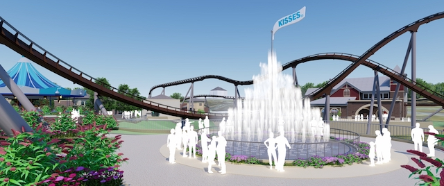 Hersheypark expands with new coaster and entrance plaza