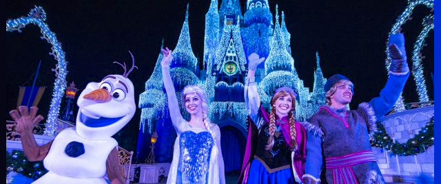 Welcome the holidays with Disney's live castle-lighting webcast