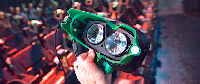 Is there any future for virtual reality in theme park attractions?