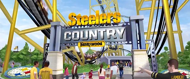 The Steel Curtain is rising at Kennywood