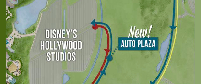 New parking entrance opens at Disney's Hollywood Studios