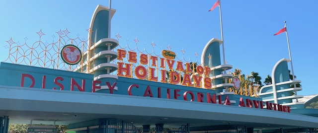 Time to celebrate the holidays at Disney California Adventure