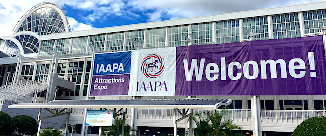 Welcome to IAAPA week in Orlando