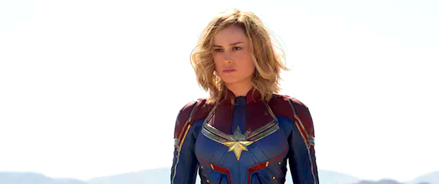 Hey, Captain Marvel: You're going to Disneyland!