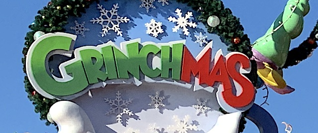 It's time again for Grinchmas at Universal Orlando Resort