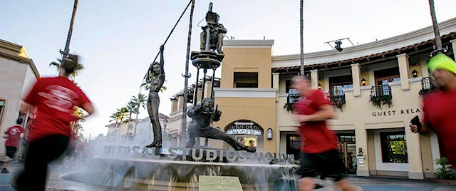Southern Californians can run around a theme park again