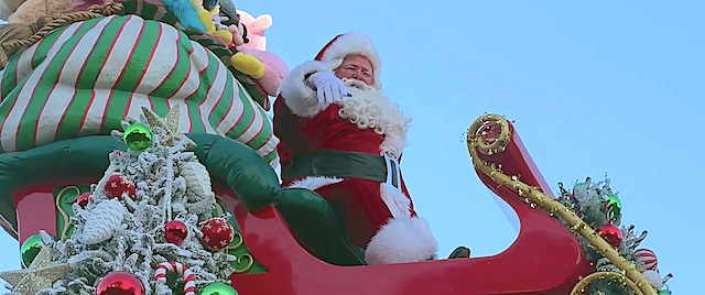 Which theme park has the best Christmas parade?