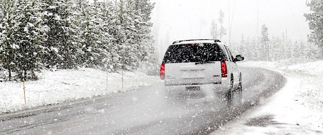 Top tips for winter-weather road trips