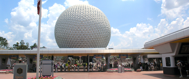Walt Disney World buses collide at Epcot parking entrance
