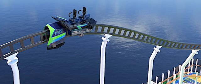 You soon can ride a roller coaster at sea on Carnival Cruise Line
