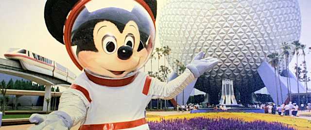 Mickey Mouse at Epcot