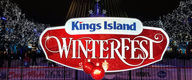 Getting into the spirit of the season at Kings Island's Winterfest