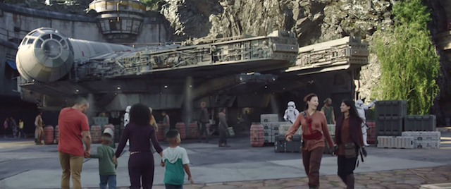 Here is Disney's Christmas preview of Star Wars: Galaxy's Edge