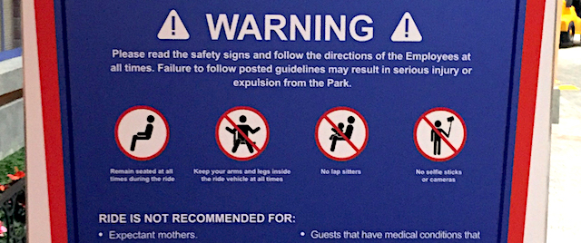 Whose job is it to keep your family safe in a theme park?