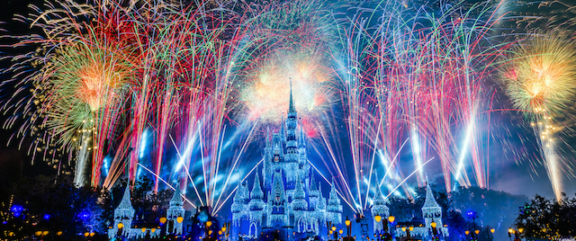 Welcome the New Year with live fireworks from Walt Disney World