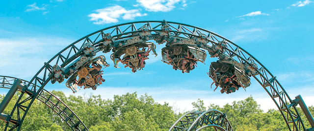 Record coaster drives record attendance at Silver Dollar City