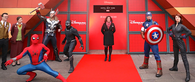 Disneyland Paris begins work on the first Marvel-themed hotel