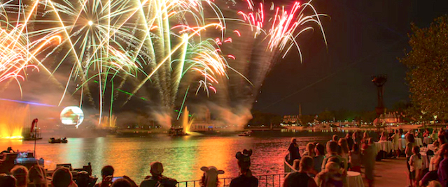 Get ready to pay extra for the best seats to Disney's IllumiNations