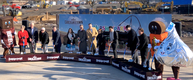 Hersheypark breaks ground on new entrance and expansion