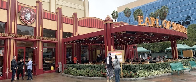 The past is present again at Disneyland's Earl of Sandwich