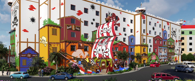 Arrr you ready for Legoland's new Pirate hotel?