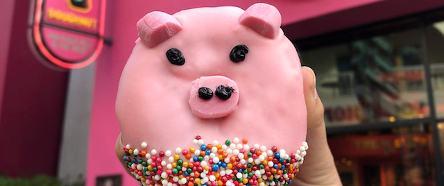 Year of the Pig doughnut