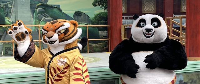 Celebrating Lunar New Year with the cast of Kung Fu Panda