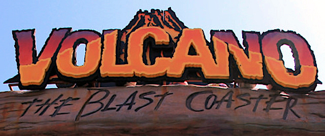 Kings Dominion closes Volcano: The Blast Coaster
