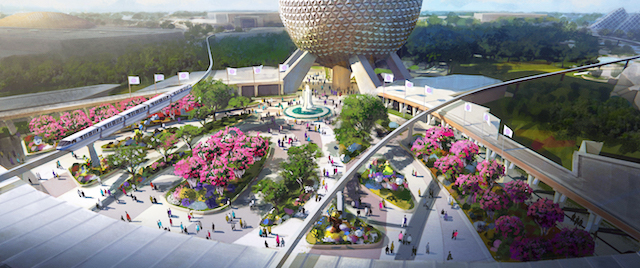 Disney details a new look and a new pavilion for Epcot